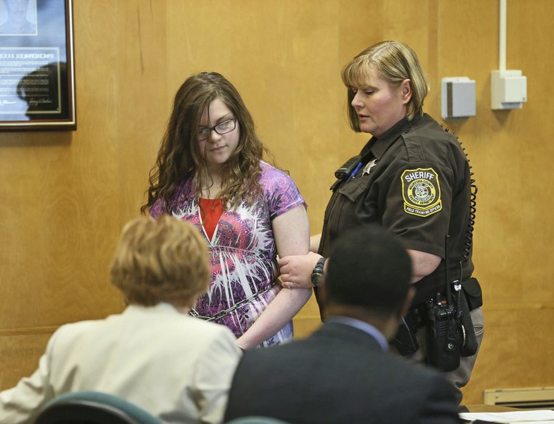 Teenage Girl Pleads Guilty To Lesser Charge In Slender Man Stabbing Case