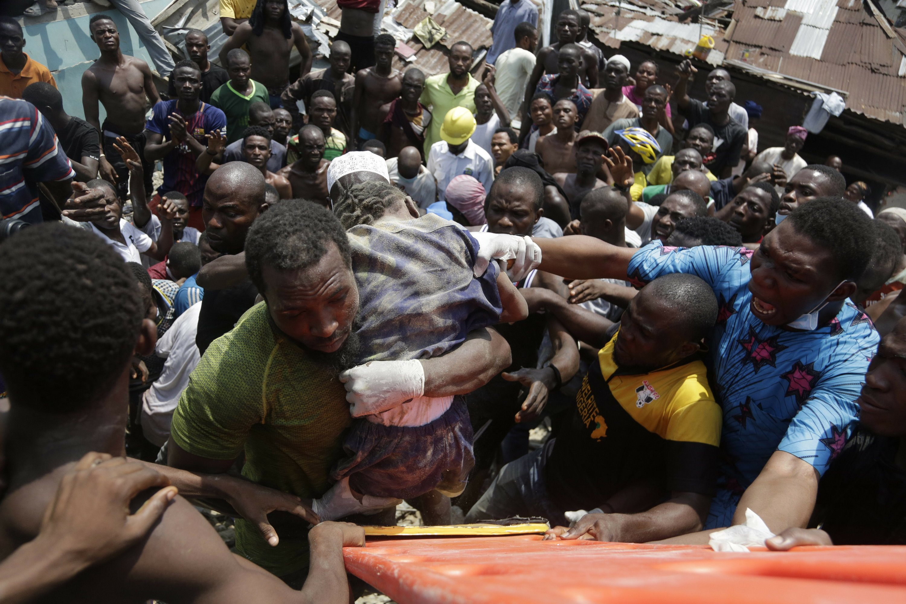 Dozens trapped in Nigeria school collapse, at least 8 dead - The Associated Press