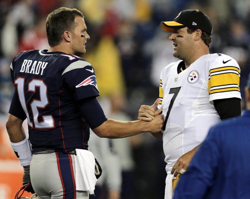 Tom Brady, Ben Roethlisberger