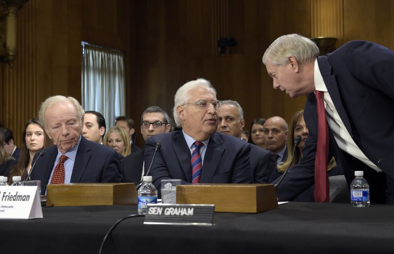 David Friedman, Lindsey Graham, Joe Lieberman