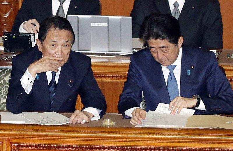 Taro Aso, Shinzo Abe
