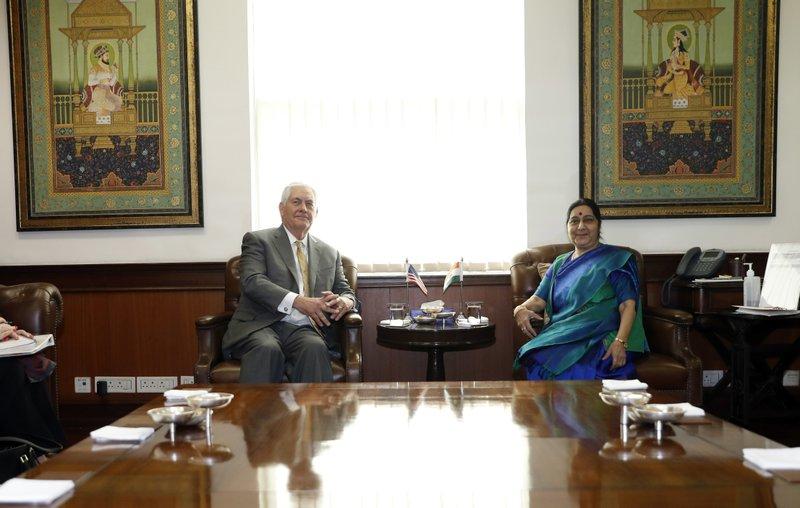 Rex Tillerson, Sushma Swaraj