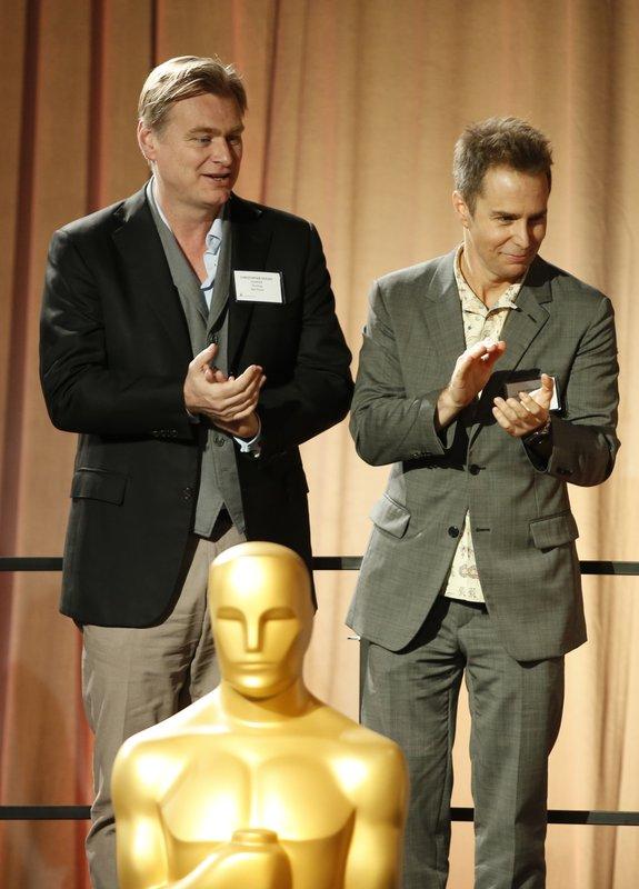 Christopher Nolan, Sam Rockwell