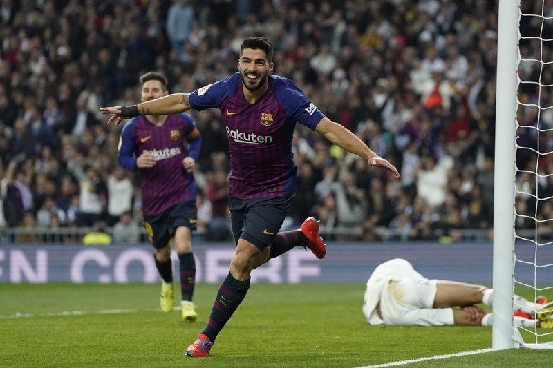 Barcelona 3 3 реал мадрид
