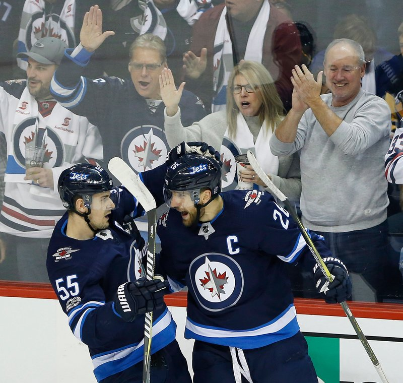 Kyle Connor, Mark Scheifele, Blake Wheeler