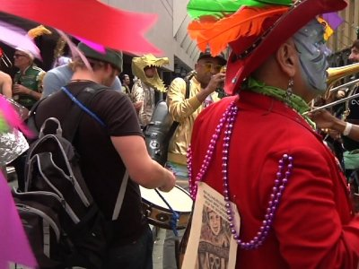 Fat Tuesday Celebrates New Orleans' Tricentennial