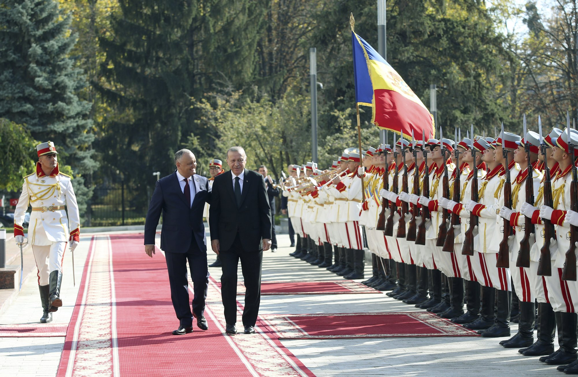 Turkish President In Moldova For 2 Day Visit To Boost Ties