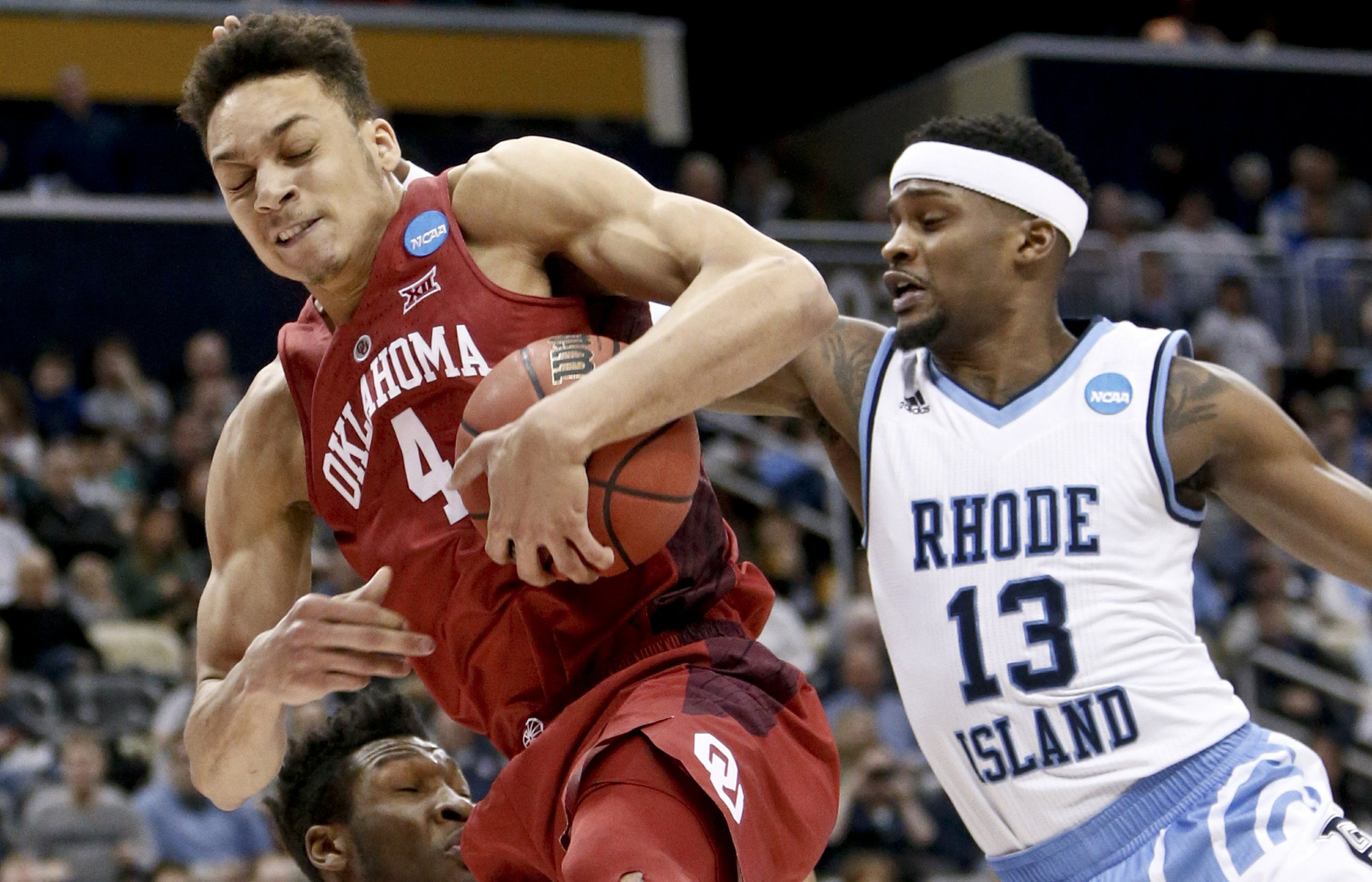 Rhode Island outlasts Young, Oklahoma 83-78 in overtime