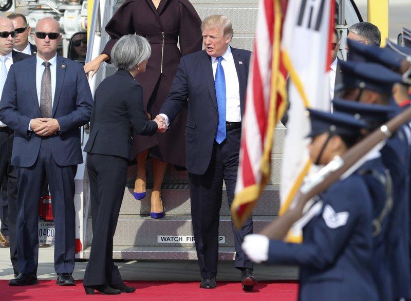 Donald Trump, Kang Kyung-wha