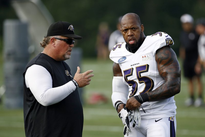 Terrell Suggs, Don Martindale
