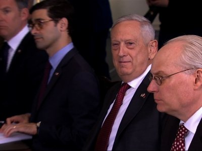 Mattis Not Ruling Out Military Strikes in Syria
