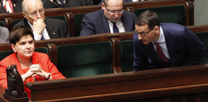 Beata Szydlo, Mateusz Morawiecki