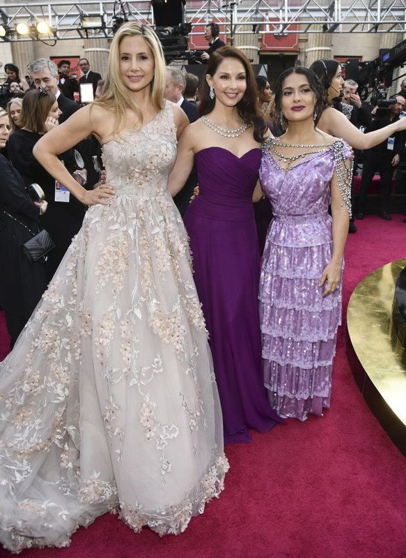 Mira Sorvino, Ashley Judd, Salma Hayek