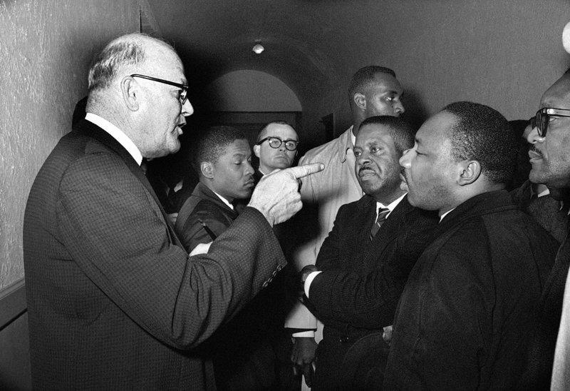 Carl Golson, Martin Luther King Jr