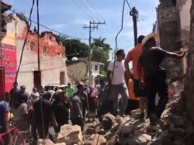 American in Mexico: Quake Was 'Crazy'