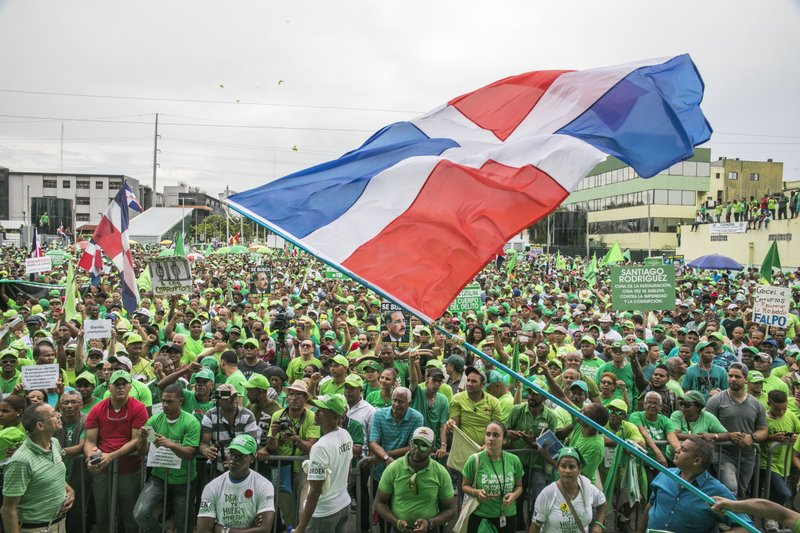 Green Movement march