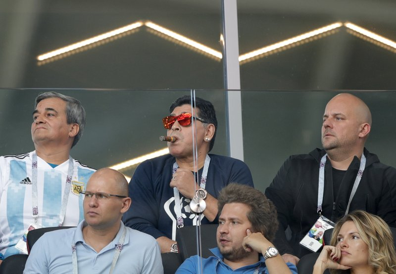 Maradona Responds To Report Of Racist Gesture To Asian Fan