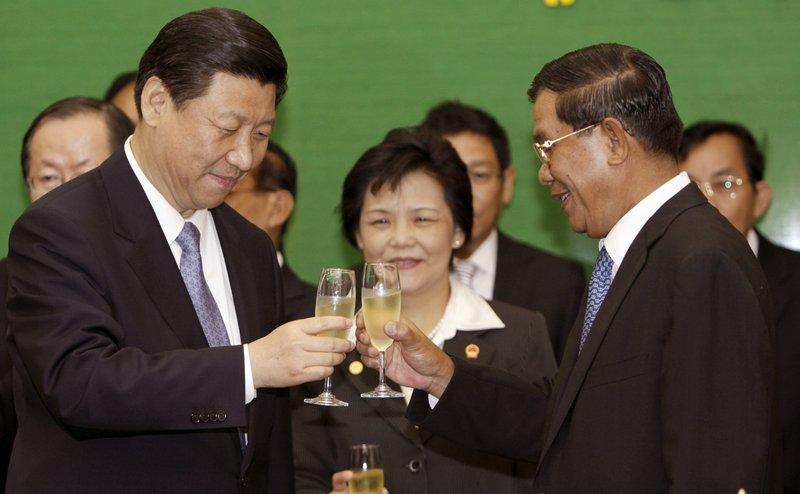 Xi Jinping, Hun Sen