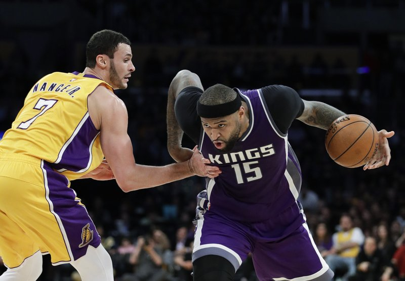 DeMarcus Cousins, Larry Nance Jr.