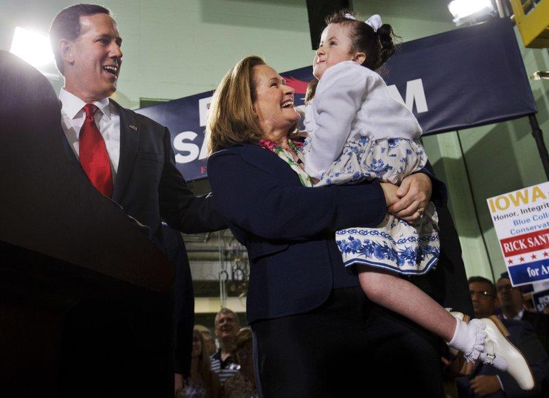 Rick Santorum, Karen Santorum, Bella Santorum