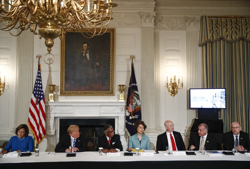 Donald Trump, Susana Martinez, George Flaggs, Jr., Elaine Chao, Pete Ricketts, Esteban Bovo, Jeff Longwell,