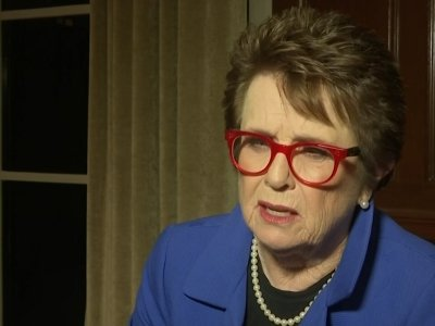 Billie Jean King 'upset' with female Trump voters