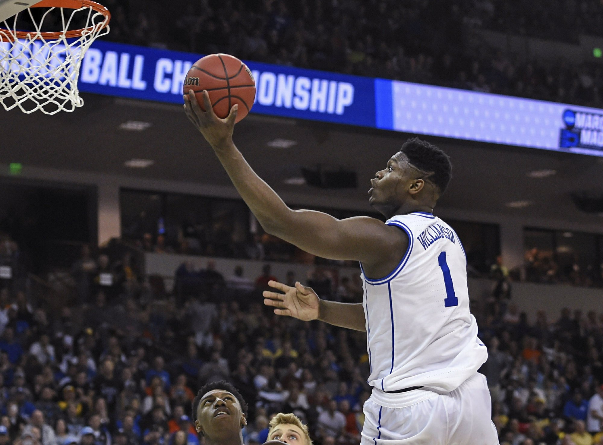 Duke's Zion Show has successful NCAA Tournament debut