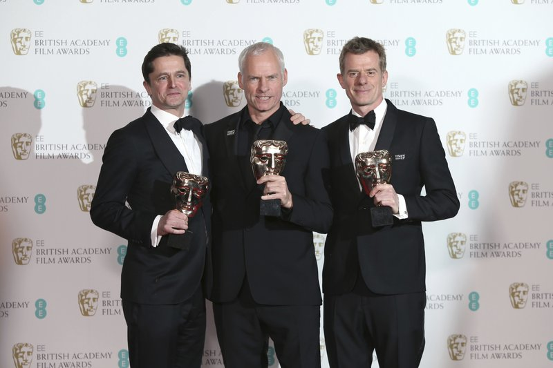 Peter Czernin, Martin McDonagh, Graham Broadbent