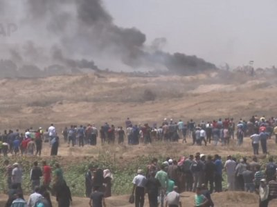 Dozens Killed in Palestinian Protests
