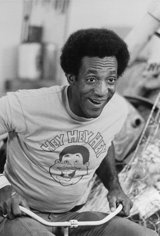 Watchf Associated Press Domestic News Entertainment APHS59930 BILL COSBY - TV MORNING SHOW 1972