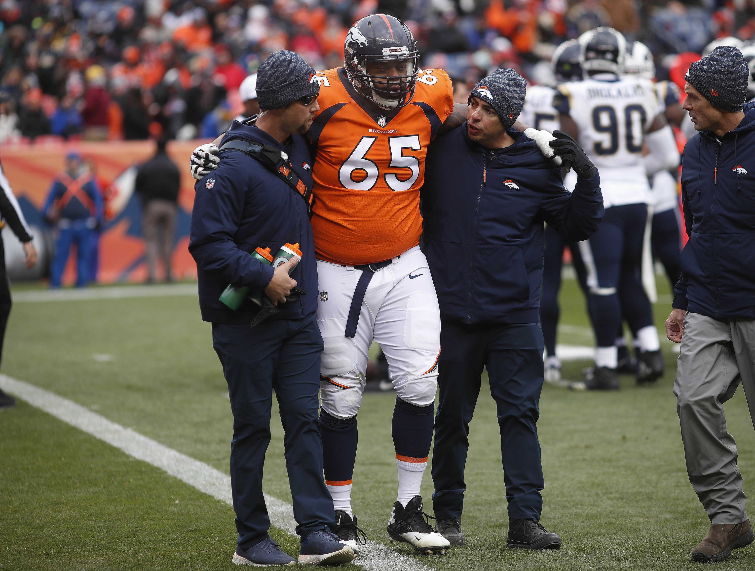 Denver's deficiencies in the trenches big part of skid