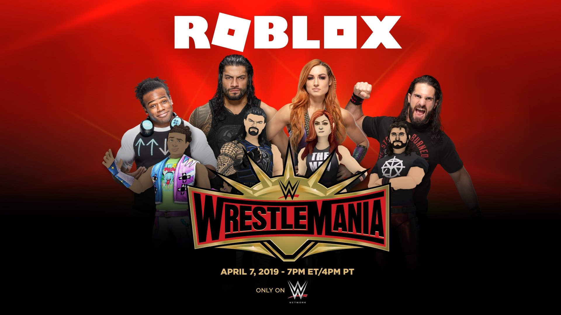 Roblox and WWE Partner to Celebrate WrestleMania