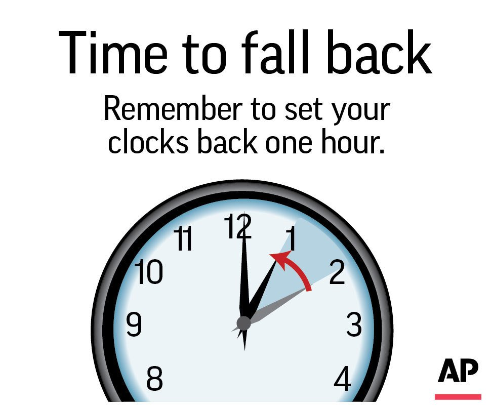 Time to usher out daylight saving time in most of America
