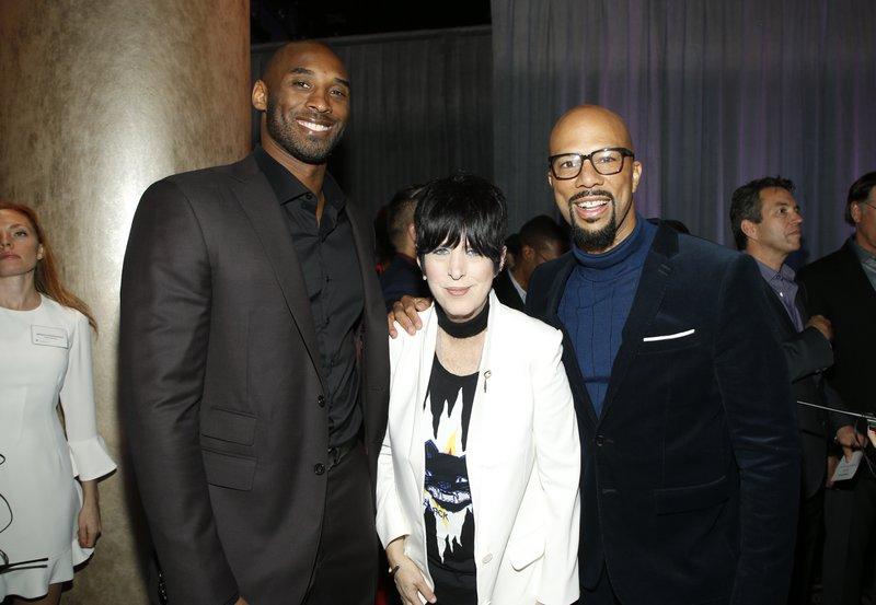 Kobe Bryant, Diane Warren, Common