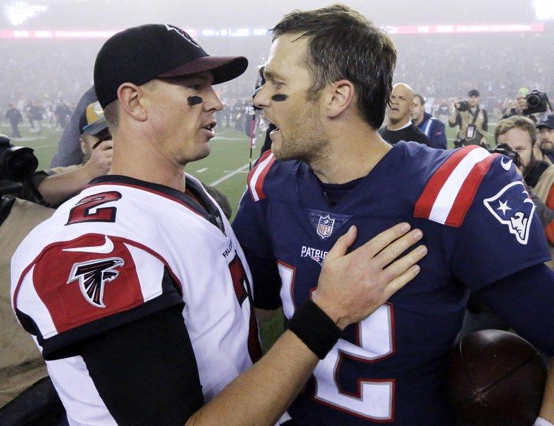Matt Ryan, Tom Brady