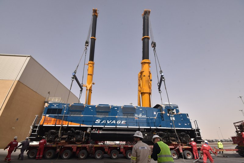Savage Saudi Arabia Delivers Locomotives and Equipment to Support Rail Operations at Saudi Aramco and Ma'aden Facilities