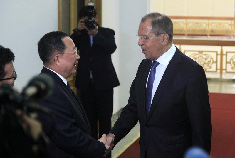 Sergei Lavrov, Ri Yong Ho