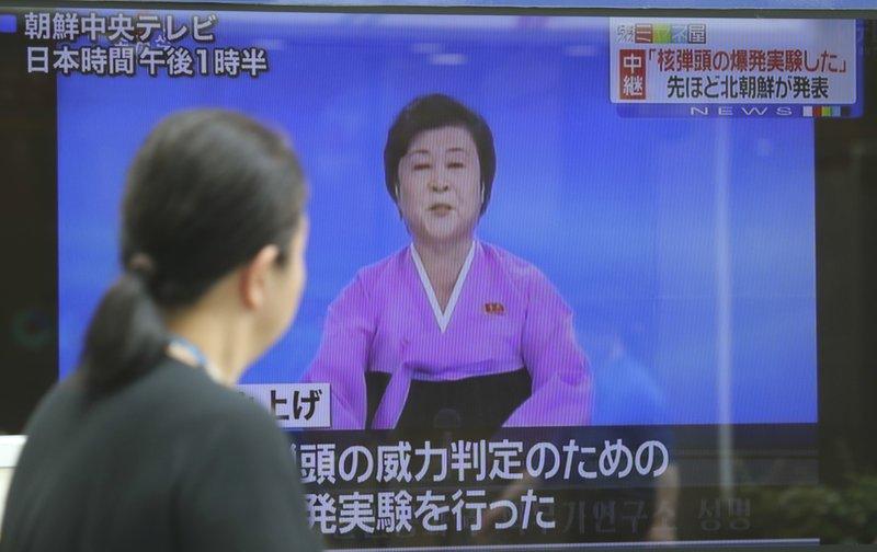 The Latest: UN Security Council condemns North Korea test