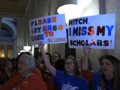 Teachers React To News Of Bill Passage