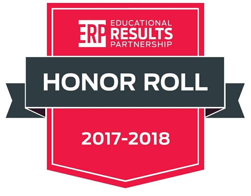 Educational Results Partnership Announces 2017 - 2018 Honor Roll