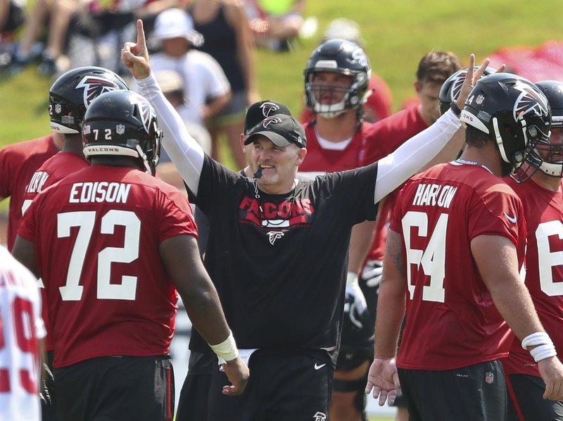 premium selection c7e12 e84d2 Quinn stays upbeat to guide Falcons past Super Bowl collapse