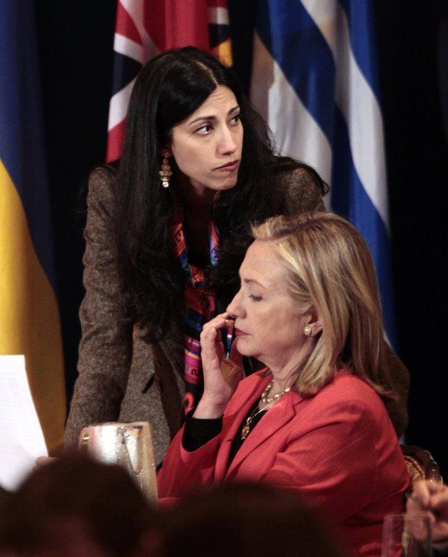 Huma Abedin, Hillary Rodham Clinton