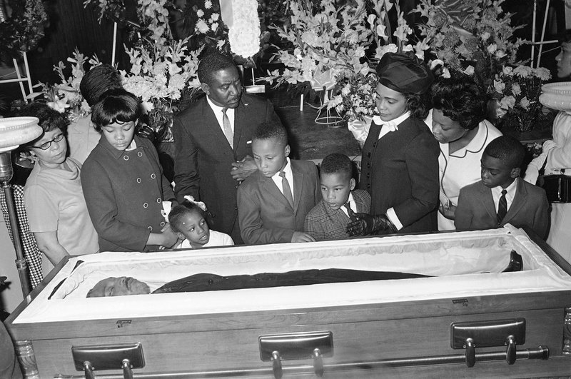 Coretta Scott King, Yolanda King, Bernice King, Martin Luther King III, Dexter Scott King