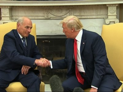 Trump: Kelly Will Do a 'Spectacular Job' As COS