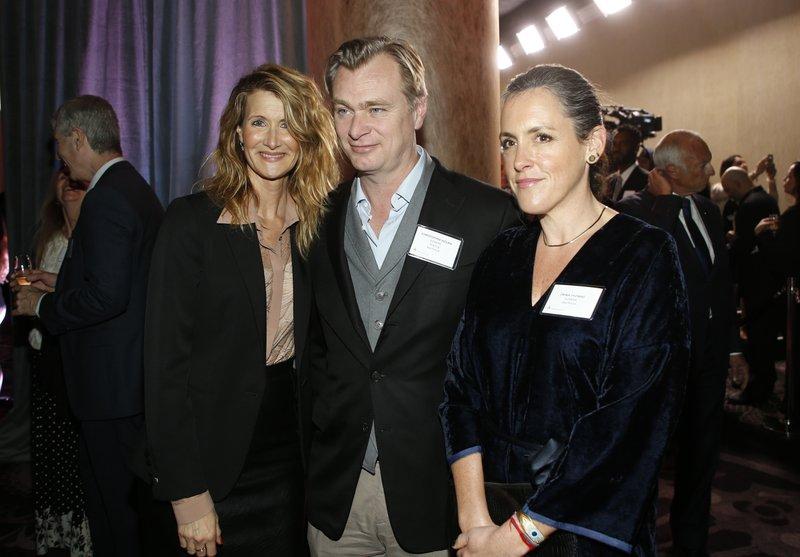 Laura Dern, Christopher Nolan, Emma Thomas