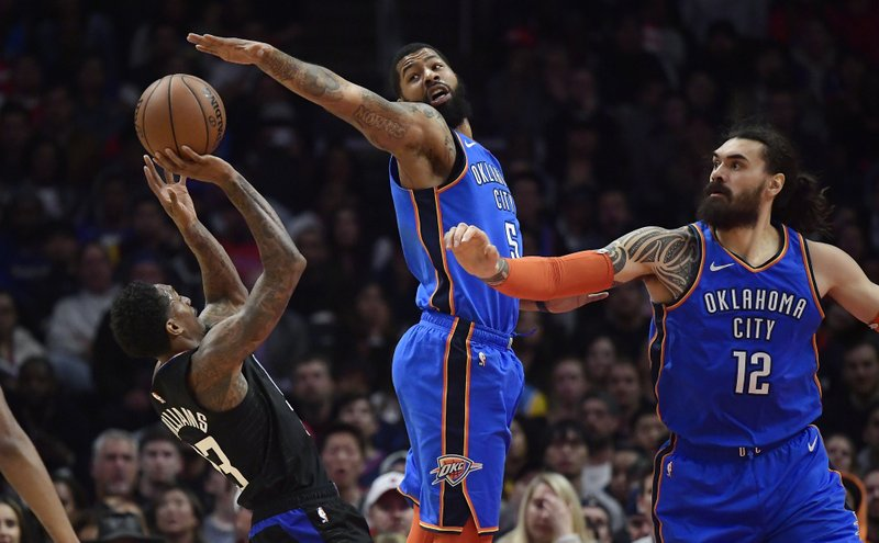 best authentic 75a9c f42a4 Williams, Gallinari lead Clippers past Thunder 118-110