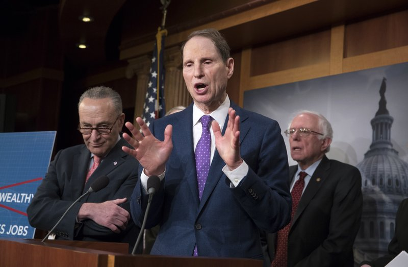 Chuck Schumer, Patrick Leahy, Bernie Sanders