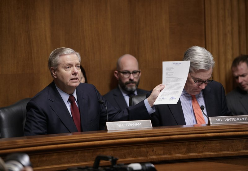 Lindsey Graham, Sheldon Whitehouse