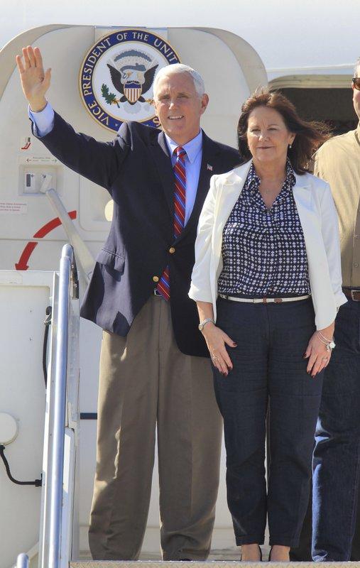 Karen Pence, Mike Pence