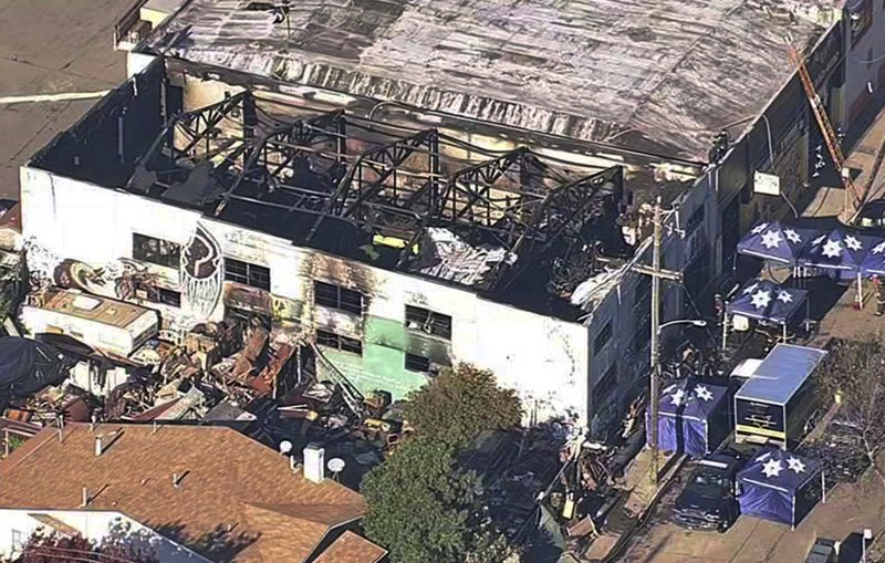 After Criminal Case Lawsuits Loom In Deadly Warehouse Fire